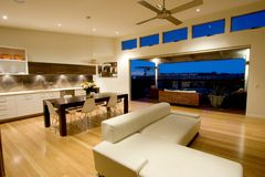 modern lägenhet Royaltyfria Bilder