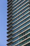 modern lägenhetbalkong Royaltyfri Fotografi