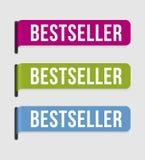 Modern  label – bestseller Stock Photography