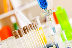 Modern laboratorium royalty-vrije stock foto's