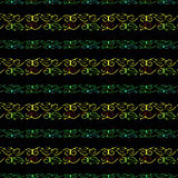 Modern Lace Stripe Pattern Stock Image