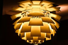 Modern lamp Stock Images