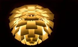 Modern lamp of danish design Royalty Free Stock Photography