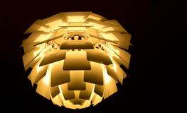 Modern lamp of danish design Royalty Free Stock Photos
