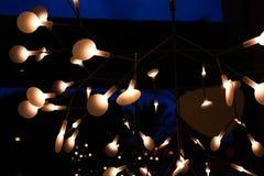 A modern lamp stock photography