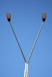 Modern lamp post Royalty Free Stock Photo