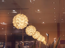 modern lampa royaltyfria foton