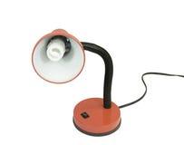 modern lampa för kulaenergysavinggooseneck Arkivbilder