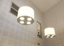 Modern lamps Stock Photos