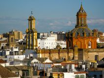 Modern Languages @ FLCC Study Abroad in Sevilla & Madrid, Spain royalty free stock image