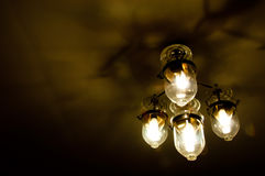 The modern of lantern as background Royalty Free Stock Images