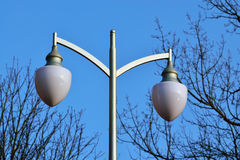 Modern lantern in the Park Stock Images