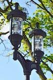Modern lantern in the Park Stock Photo