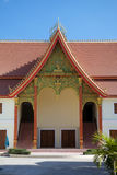 Modern Laotian architecture at Wat Si Saket, Vientiane, Laos Stock Images