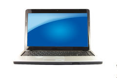 Modern Laptop Royalty Free Stock Photography