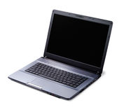 Modern Laptop. Modern style laptop isolated over white background Stock Photo