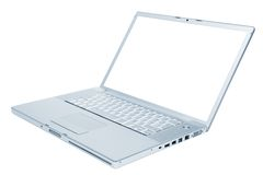 Modern laptop Stock Image