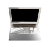 Modern laptop closeup Stock Image