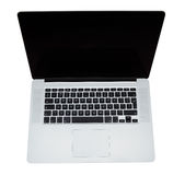 Modern laptop computer Royalty Free Stock Images