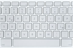 Modern Laptop Keyboard royalty free stock photos