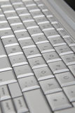 Modern laptop keyboard, closeup Stock Photography