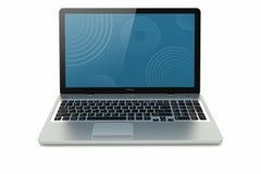Modern laptop mobility Stock Photos
