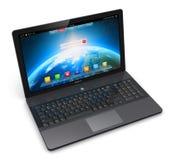 Modern laptop Royalty Free Stock Image