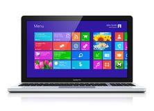Modern laptop Stock Photos