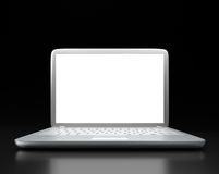 Modern laptop PC Royalty Free Stock Photo