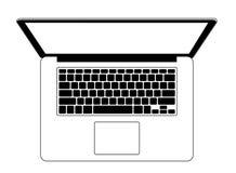 Modern laptop Royalty Free Stock Photos