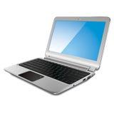Modern laptop, vector illustration Stock Images
