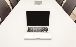Modern Laptop Royalty Free Stock Image