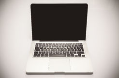 Modern Laptop Stock Photography