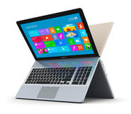 Modern laptops Stock Images