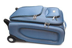 Modern large suitcase Stock Photo