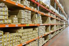 Modern large warehouse Royalty Free Stock Image