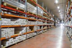 Modern large warehouse Royalty Free Stock Images