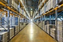Modern large warehouse Stock Photos