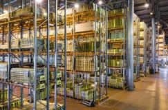 Modern large warehouse Royalty Free Stock Photography