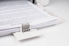 Modern Laserjet printer Royalty Free Stock Image