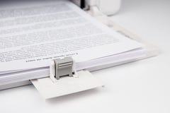 Modern Laserjet printer Royalty Free Stock Image