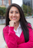 Modern latin woman in the city Royalty Free Stock Photo