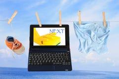 Modern laundry Royalty Free Stock Photo
