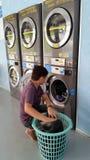 Modern Laundry Room Stock Image