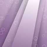 Modern layered purple background template Royalty Free Stock Photography