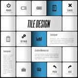 Modern layout Stock Photo