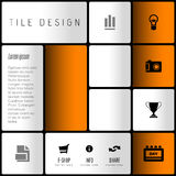 Modern layout Royalty Free Stock Images