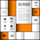 Modern layout Stock Photography