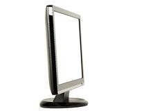 Modern LCD monitor Royalty Free Stock Photos