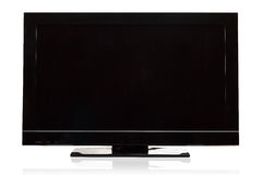 Modern LCD television Royalty Free Stock Photo